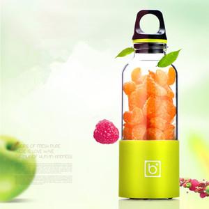 deniz nakliye CCA12076 100pcs 500ml Kişisel Blender Portable Blender USB Meyve sıkacağı Kupası Elektrik sıkacağı Şişe Meyve Sebze Araçları