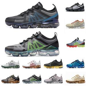 Nike Air Max VAPORMAX Orijinal Kutusu CPFM X VPM Koşu Ayakkabıları Beyaz Kireç Geniş Gri Volt Hava Kadın Erkek PRM Alüminyum Mavi Eğitmenler Spor Sneakers 36-45