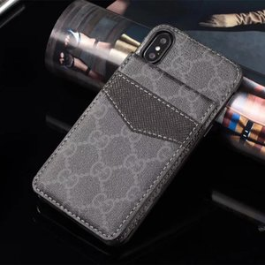 For Samsung S20 plus S10 S9 S8 Plus Note10 Note9 Leather Card Bag Wallet Phone Case for iphone 11 Pro Max 7 8 plus XS XR XsMax Phone Cover