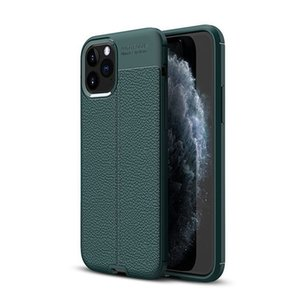 Matte Frosted Soft TPU Case For iPhone 11 PRO MAX Lichee Texture Phone Cover for iphone 6 7 8 XS X XR MAX