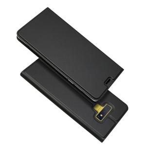 Nota9 Custodia in pelle con vibrazione magnetica per Samsung Galaxy Note 9 Custodia antiurto con custodia protettiva completa per cassa Galaxy Note8 Custodie per telefoni