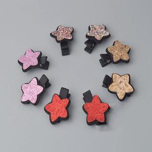 10 styles Korean cute sequin baby girls hairband fashion star hair clip shining BB clips hair accessories