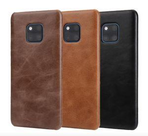 Mattleder stark zurück phone case abdeckung luxus schützende matte fällen für huawei honor v10 mate 10 10pro 20 20pro 20x p20 p20 pro