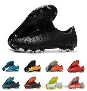 Heißer Verkauf Hypervenom Phantom III DF FG Fußballschuhe Outdoor Hypervenom ACC Socken Fußballschuhe Niedrigen Knöchel Fußballschuhe 39-45
