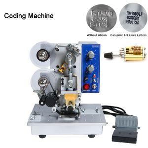 HP-241b Полуавтоматическая Hot Stamp Coding машина ленты Дата Характер, Горячий Код Принтер HP-241 Ribbon Дата кодирования машины