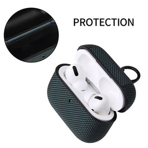 Hot Sale TPU Cover For Airpods pro 4 Colors Case For Airpods 3 Cover For Air pods 3 Case Anti Lost Hook Clasp Keychain free shipping