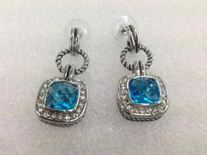 neue frauen weibliche damen Persönlichkeit David YM kupfer kristalle diamant ohrringe Einzigartige design drop ohrringbolzen 4colors kostenloser versand