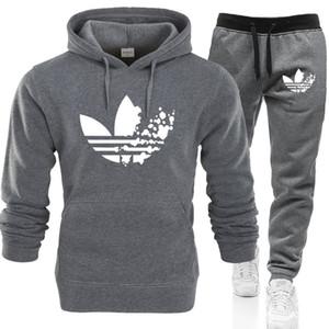 Nuovo A DI Graffiti Felpa con cappuccio da uomo / donne magliette felpate + Sweatpants Tute Autunno Inverno Fleece Pullover con cappuccio