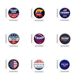 Trump broches 2020 Trump président élection bannière Badge garder Amérique Grand Donald Trump élection Brassard Badge Pins T2I5804