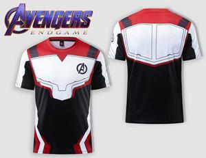 Avengers 4 quantum battle suit concept 3D digital printed T-shirt Cosplay mens print Slim jersey vr46 tee shirt v vendetta t shirts custom