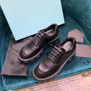 متراصة منصة مصمم أحذية النساء أحذية فاخرة Chaussures خمر مارتن دي chaussures لوحة-FORME جلد على مدى الركبة حذاء عرضي