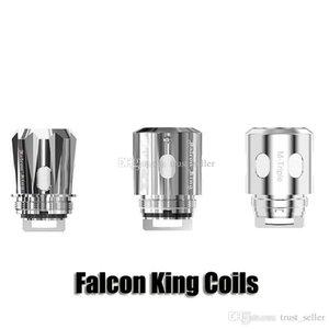 100% originale del rimontaggio Falcon Re Coil M1 + 0.16ohm M-Dual 0.38ohm M-Triple 0.15ohm Mesh Nucleo capo per il serbatoio Authentic