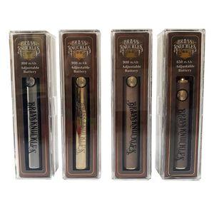 Brass Knuckles Разогреть Vape батареи 650mAh 900mAh переменного напряжения Vape ручки батареи с USB зарядное устройство МУФЕЛЬНАЯ 510 Батарея Thread