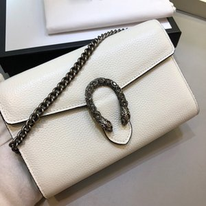 High end customized European and American classic leisure fashion Single Shoulder Messenger Portable Mini Leather Handbag 053-1
