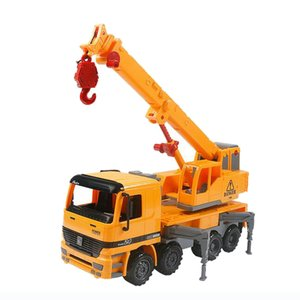 Engineering Construction Camion, gru veicolo, plastica Model Car, Kids Toy