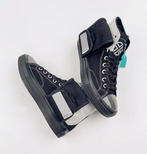 Lay Zhang Chuck 1970s joint name white pocket high-top casual sports shoes light blue jelly midsole Velcro men and women shoes