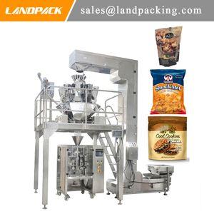 Soffiato Chips estruso Snack Food Packaging Macchina piccolo pane di riso soffiato macchina imballatrice per soffiato alimentari