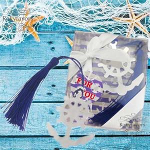 Püskül Denizcilik Wedding ile 20PCS Çapa İmi Doğum Hediyeler Gelin Duş Plaj Tema Favors Olay Keepsake Parti Eşantiyon Fikirler