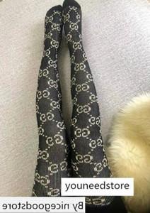 Moda Pantynose Embalado Carta Meia-calça G completa outono e inverno quente meias-calça