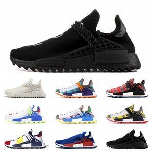 2020 Human Race runner running shoes pharrell williams NERD BLACK triple white black blue green cream mens trainer men women sport sneakers