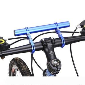 Großhandel Fahrradlenker Erweiterte Bracket Scheinwerferhalter Bar Computer-Stiftsockellampe Radfahren Fahrradrahmenverlängerung Fahrradzubehör