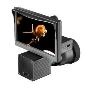 나이트 비전 5.0 인치 디스플레이 샴 HD 1080P 범위 비디오 카메라 적외선 조명 Riflescope 사냥 광학 시스템