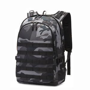 Camo zaino militare zaino tattico Laptop Backpack pacchetto sacchetto impermeabile Zaino Sport Attrezzature per attività all'aperto con il sistema di Molle porta USB per gli uomini