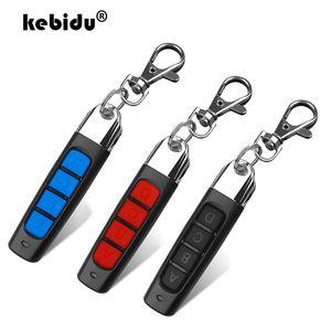 Controls kebidu пара Копировать Гаражные ворота Дверь управления 433MHZ Auto Remote 4 Основные кнопки гаражной двери дистанционного управления Дубликатор