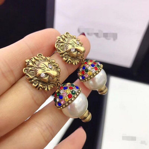 2019 European and American retro fashion stud personality new style, high quality earrings