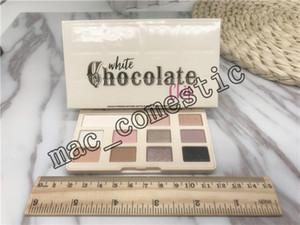 Em estoque frete grátis White Chocolate Chip Maquiagem Sombra de chocolate Too Matte sombra rosto Paleta 11 cores de maquiagem sombra