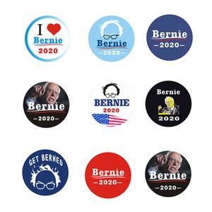 Trump 2020 Broş Amerika Büyük iyi E22808 iğneler Bernie Sanders Rozet Broş iğneler Cumhurbaşkanlığı Seçim Broş iğneler hediye yazdır tutun