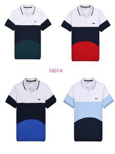 Designer Hommes Polos Été Marque Polo Hommes Mode luxe T-shirts manches courtes Polos T-shirts Crocodile Polos Tops 2020760K