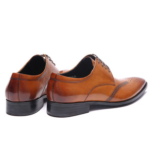 SIPRIKS MENS Vintage véritable cuir Brogues Chaussures Brown Noir Italienne Robe Chaussures Boss Office Footwear Chaussures Casual Oxfords