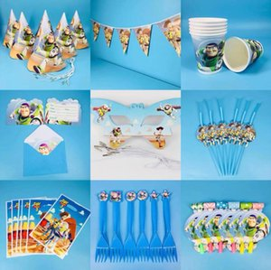 The children's birthday party of design of 88 theme things environmental protection tableware children's day party