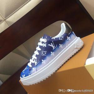 ESCALE TIME OUT scarpa da tennis di marca di lusso delle nuove donne di dimensioni scarpe sportive piattaforma Chaussures superiore qualità del 1A7ULR donne 35-42 w