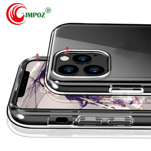 Official Style Clear Phone Case For iPhone XI HD Transparent ShockProof Cover For iPhone XIR XIS MAX 11 2019 Case