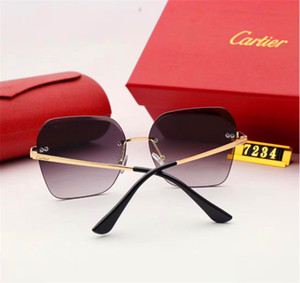 Mens Woman Designer Sunglasses Luxury Sunglasses Designer Glass Adumbral Glasses UV400 Model 5200 6 Colors Optional High Quality with Box