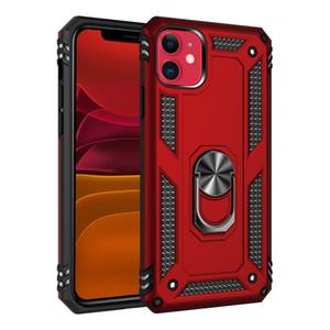 Telefono Caso Armor For iPhone 11Pro Max XS Xr X 8 Inoltre Samsung note10 anti-graffio Supporto antiurto auto anello magnetico respingente di copertura Shell di caso