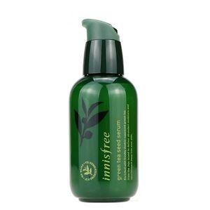Venda quente verde garrafa CREAM O chá verde Semente Serum Hidratante Facial Lotion 80ml DHL navio livre
