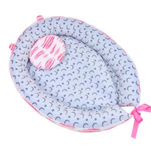Portable letto bionico Nest Toddler Cotton culla bambino culla pieghevole Paraurti Sleeper Babynest per il neonato di viaggio Bed Presepe
