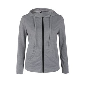 New Personality Trend Fashion Spring and Autumn Long Sleeve Cap Zipper Slim Jacket 0140