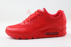 90 HYP QS PRM Femmes Hommes Sneakers USA Flag Athletic Designer Chaussures de sport homme Chaussures de marche Casual