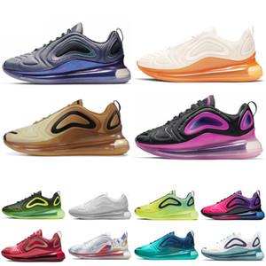 Nike air max 720 Кроссовки Мужские Тренер DESERT Углерода Серый Пасхальный Пакет Северное Сияние День Мужская мода Спортивный Дизайнер обувь размер 36-45