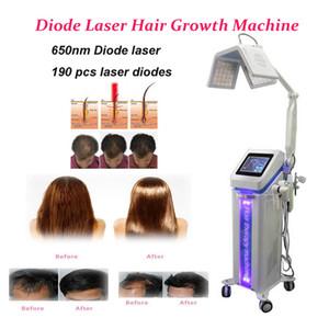 أحدث 5 في آلة نمو الشعر 650nm diode laser beauty hair loss rerowth laser beauty machines
