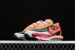 BAPE x sacai x Nike LDV Waffle BV0073-081 Running Designer Shoes Women Gusto Varsity green Men Trainers Sports Sneakers