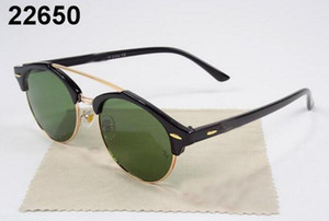 Beliebte Marken-Designer-Sonnenbrillen für Männer Frauen-beiläufige Radfahren Outdoor Fashion Siamese Sonnenbrille Spike Katzenaugen-Sonnenbrille Top-Qualität