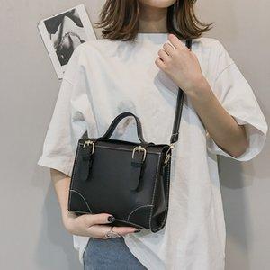 designer new Messenger Bags 2019 New Fahsion Leather Solid Color Personality Shoulder Handbag Messenger Bag