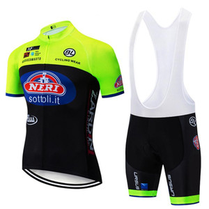 2020 Flour sottoli pro Cycling wear Bike jersey Quick Dry Bicycle clotheing mens summer team Cycling Jerseys 20D bike shorts set