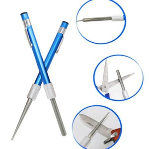 Tools Professional Knife Sharpener Pen Style Pocket Diamond Sharpener Knife Sharpeners Chisel Sharpener Grindstone Fishing Tool