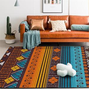 Las alfombras étnicas para sala de estar dormitorio alfombras de Marruecos de Bohemia de la zona Large Rug Inicio Alfombra Piso Puerta Mat 009 Decoración